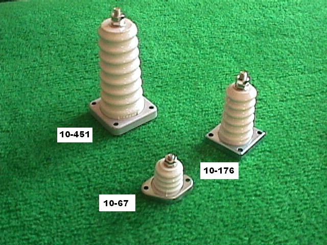 10 67 Metal Base Insulators