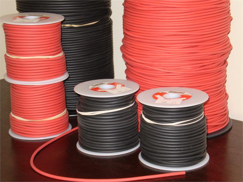 2715 2717 Rubber Kinkless Test Lead Wire