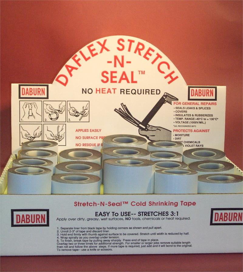 St250 Daflex Stretch N Seal Rubber Non Heat Shrink Tape
