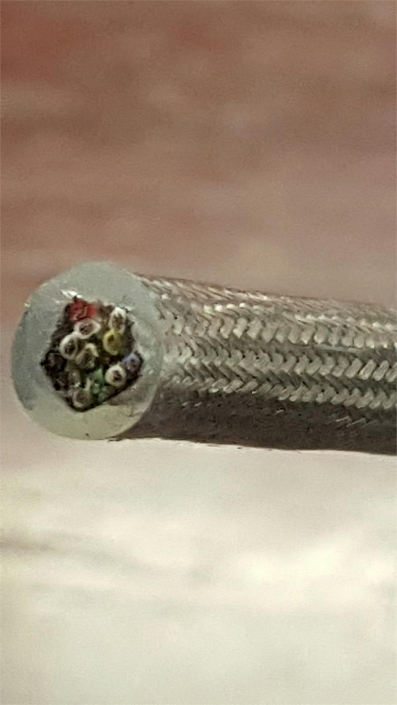 2610 Ultra Flexible Daflex Silicone Shielded Signal Cable