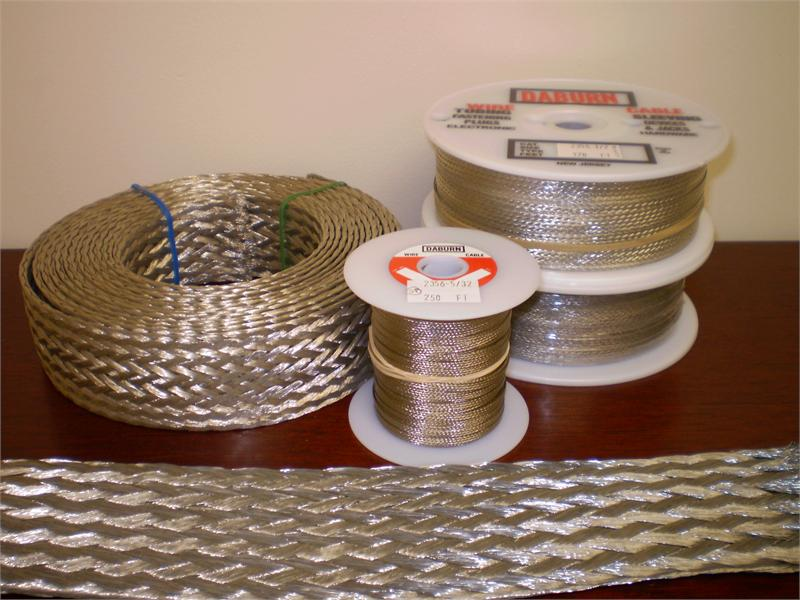 #2355 Tinned Copper Shielding Flat Braid
