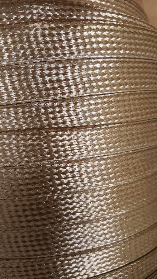 #2357 Silver Plated Flat Braid (Per MIL Spec QQ-B-575 &/or